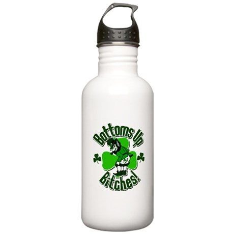 Bottoms Up Bitches! Stainless Water Bottle 1.0L