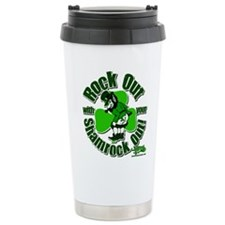 Rock Out With Your Shamrock O Travel Mug