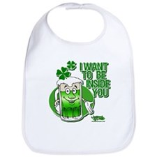 Green Beer Innuendo Bib
