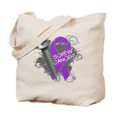 Screw Pancreatic Cancer Tote Bag