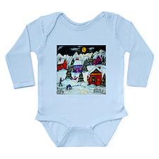 Winter Fun Long Sleeve Infant Bodysuit