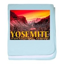 Yosemite National Park baby blanket