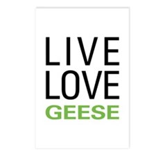 Live Love Geese Postcards (Package of 8)