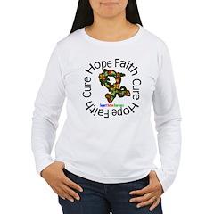 Autism Flower Hope Women's Long Sleeve T-Shirt