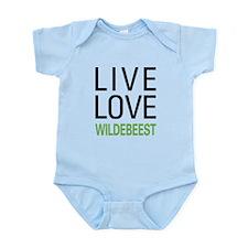 Live Love Wildebeest Infant Bodysuit
