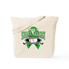 Strike Bile Duct Cancer Tote Bag