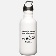 Triathlon Bad Body Water Bottle