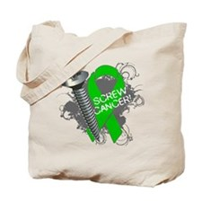 Screw Bile Duct Cancer Tote Bag