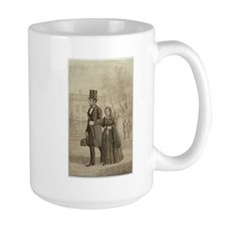 Abraham & Mary Todd Lincoln Large Mug