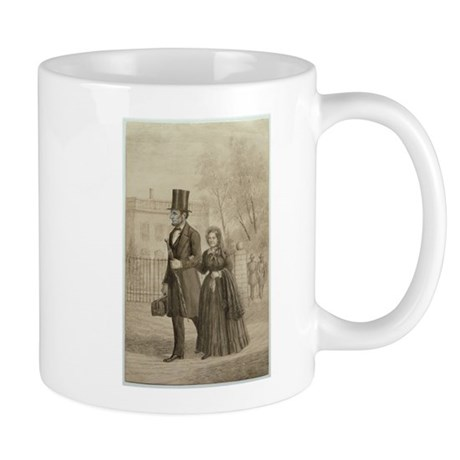 Abraham & Mary Todd Lincoln Mug