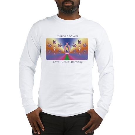 Aurora mandala Long Sleeve T-Shirt