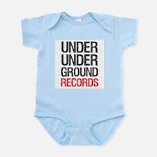 Under Under Ground Records Infant Bodysuit