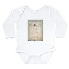 Unique Da vinci Long Sleeve Infant Bodysuit
