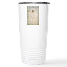 Cute Vitruvian man Travel Mug