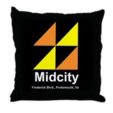 Midcity Throw Pillow