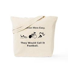 Traithlon Football Tote Bag