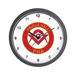 Masonic PHA Wall Clock