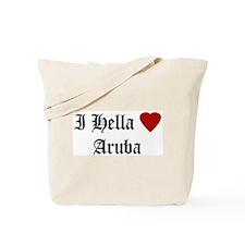 Hella Love Aruba Tote Bag