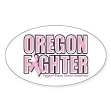 Oregon Breast Cancer Fighter Decal