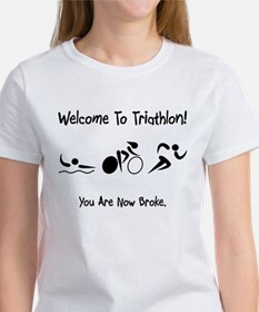 Welcome To Triathlon! Tee