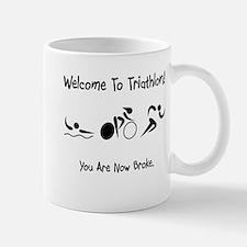 Welcome To Triathlon! Mug