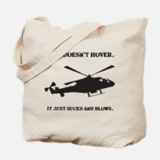 Helicopter Hover Tote Bag
