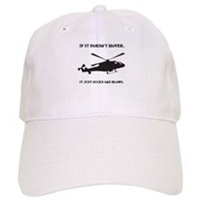 Helicopter Hover Baseball Cap