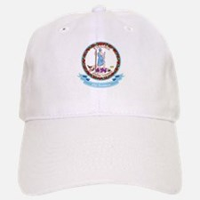 Virginia Seal Baseball Baseball Cap