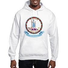Virginia Seal Hoodie Sweatshirt