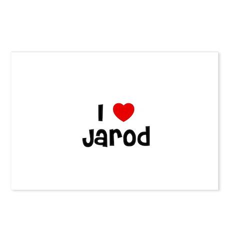 I * Jarod Postcards (Package of 8)