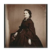 Mary Todd Lincoln Tile Coaster