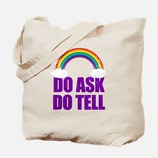Do Ask, Do Tell Tote Bag