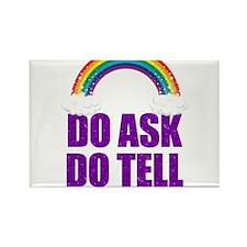 Do Ask, Do Tell Rectangle Magnet