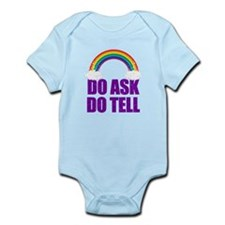 Do Ask, Do Tell Infant Bodysuit