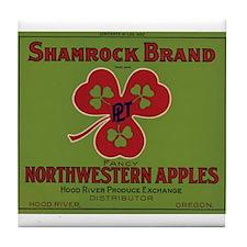 Shammrock Brand Tile Coaster