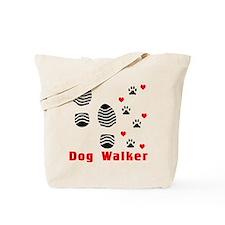 Cute Dog footprint Tote Bag