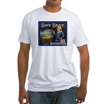 Boy Blue Apples Fitted T-Shirt