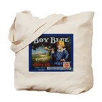Boy Blue Apples Tote Bag