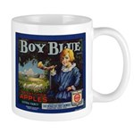 Boy Blue Apples Mug