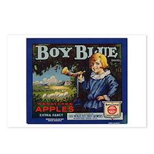 Boy Blue Apples Postcards (Package of 8)