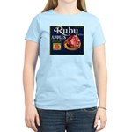 Ruby Apples Women's Light T-Shirt