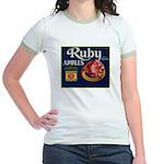 Ruby Apples Jr. Ringer T-Shirt