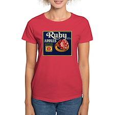 Ruby Apples Women's Dark T-Shirt
