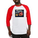 Ruby Apples Baseball Jersey