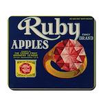 Ruby Apples Mousepad