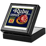 Ruby Apples Keepsake Box