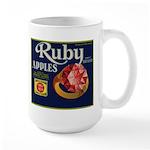 Ruby Apples Large Mug