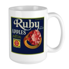 Ruby Apples Mug