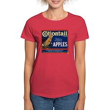Cottontail Apples Women's Dark T-Shirt