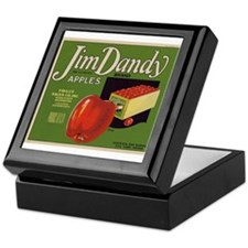 Jim Dandy Apples Keepsake Box